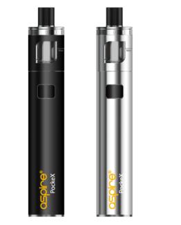 Aspire PockeX e-sigareti värvivalik