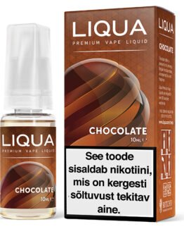 Liqua Elements Chocolate ehk šokolaadi e-vedelik - 10ml Levia