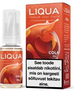 Liqua Elements Cola ehk cola e-vedelik - 10ml Levia
