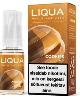 Liqua Elements Cookies ehk küpsise e-vedelik - 10ml Levia