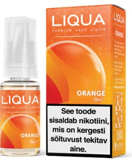 Liqua Elements Orange ehk apelsini e-vedelik - 10ml Levia