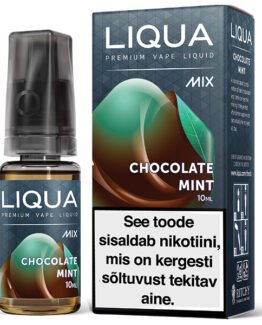 Liqua Mix Chocolate Mint ehk chocomint e-vedelik - 10ml Levia