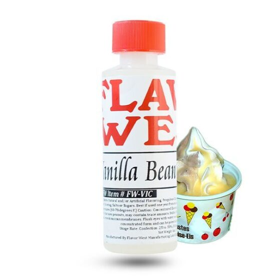 Flavor west vanilla bean ice cream 118ml maitsestaja