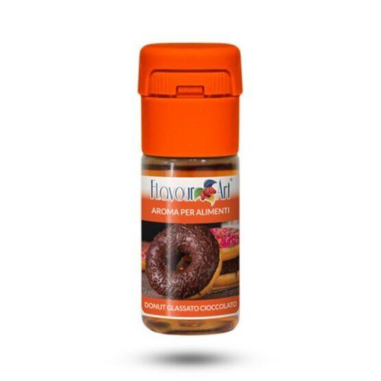 FlavourArt-Chocolate-Glazed-Doughnut-maitsestaja-Levia