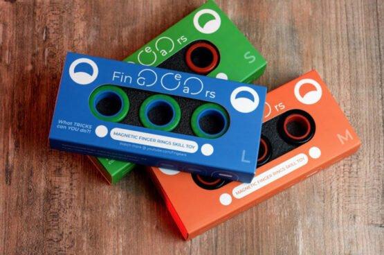 FinGears magneetilised rõngad