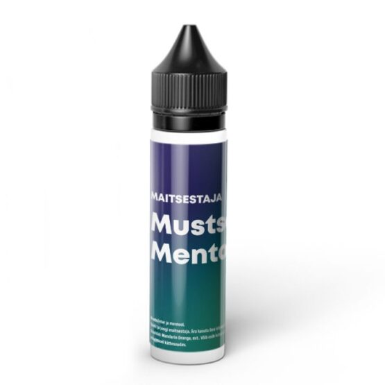 Maitsestaja-Mustsostar-Mentool